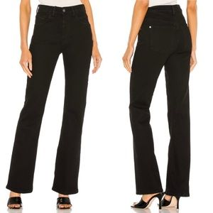 Free People NEW Flared Black Jeans Size 28